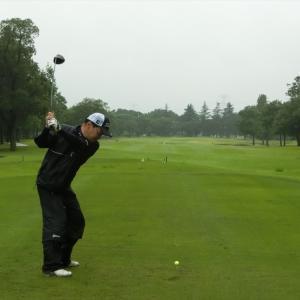 今週は、ドシャ降りの富貴ゴルフ倶楽部です。その2