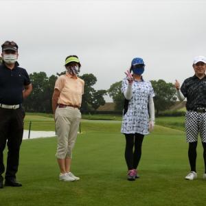 今週は、富貴ゴルフ倶楽部でスルーラウンドです。