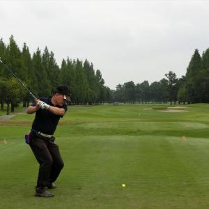 今週は、富貴ゴルフ倶楽部でスルーラウンドです。その4