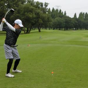 今週は、富貴ゴルフ倶楽部でスルーラウンドです。その5