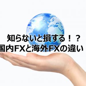 知らないと損する!?国内FXと海外FXの違い!