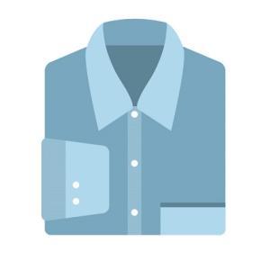 シャツの名称・デザイン・襟型・袖口・前立て・生地・素材の種類まとめ