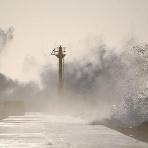 台風19号が通過中です。~注意して下さい!!