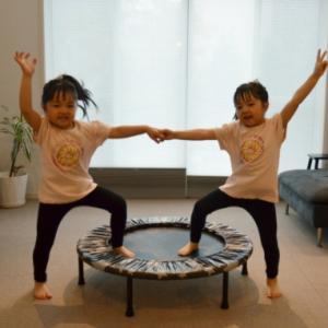 トランポリンの効果がすごい!子供のパワーがジャンプと共にあがる!