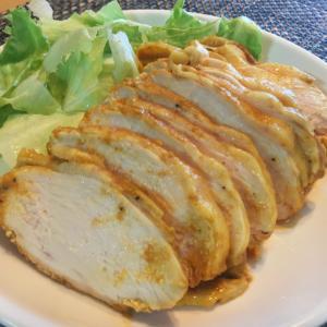 【タンドリーサラダチキン】ダイエットや節約に!簡単レシピ