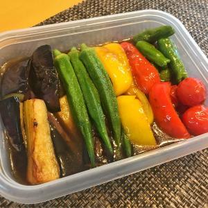 【夏野菜の揚げ浸し】めんつゆとフライパンで簡単!日本酒おつまみ