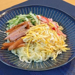 【冷やし中華】カルディサリ麺の節約アレンジレシピ!忙しい日の味方!