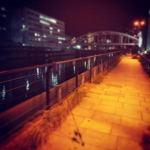 Y駅西口用水路