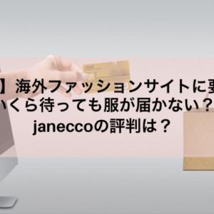【詐欺?】海外ファッションサイトに要注意!いくら待っても服が届かない?janeccoの評判は?