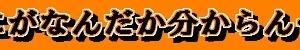【和と動Ⅱ<110>:●】なにがなんだか分からん…。(10月29日)