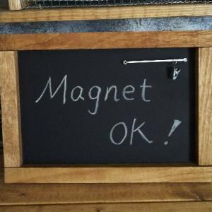 【100均+スプレー塗料】100均材料でマグネットも使える黒板をDIY‼️~ラストオリウムのチョークボードスプレー~