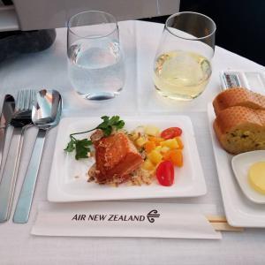 【食レポ】ニュージーランド航空ビジネスクラス(NZ099)