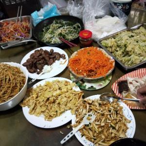清明節に必ず食べる台湾風春捲