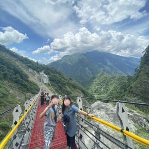 新名所!台湾最長の『雙龍七彩吊橋』‼