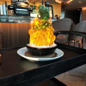 炎のパイナップル料理がある素敵なレストラン『Asia49』を紹介☆