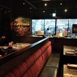 台湾のどこにでもあるレストランCafe Grazieで『父の日』を祝う