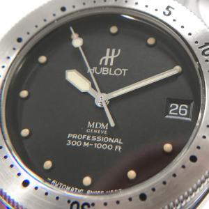 HUBLOT ウブロ プロフェッショナル ダイバー MDM 1553.1 300M防水 自動巻き オートマチック SS