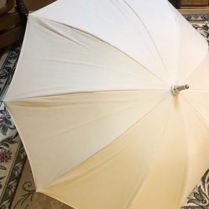 日本製の日傘を買いましたよ・・・