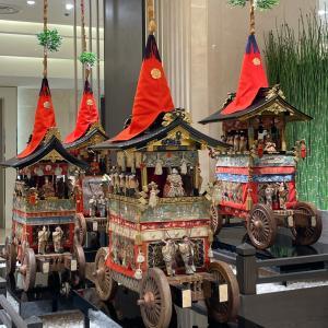 京都大丸の祇園会夏祭り・・・