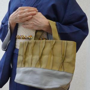 純子さん手づくりの畳ヘリで作ったトートバック・・・