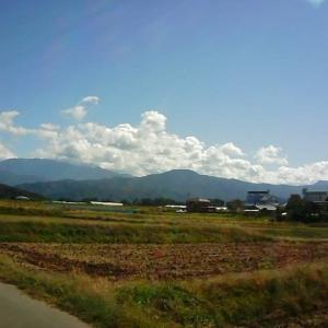 ただいまの信州伊那谷の風景。 ただいま奮闘中