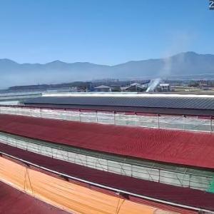 ただいまの信州伊那谷の風景。 明日からはお天気が、、、