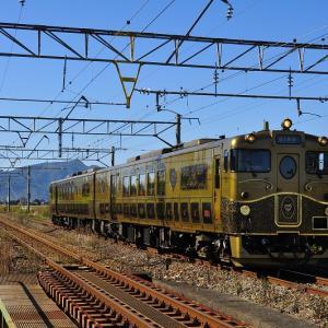金色に輝く「或る列車」