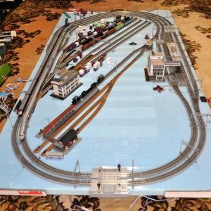 鉄道模型~今のレイアウト、C622号機など