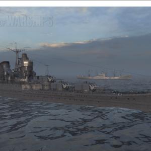 日本巡洋艦④