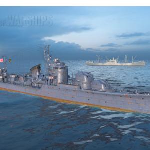 日本駆逐艦⑨