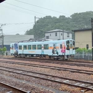 ゆるキャン△ラッピング列車