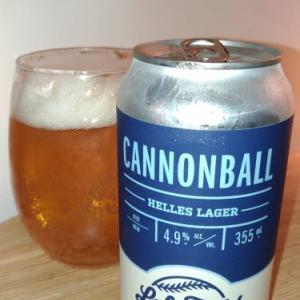 CANNONBALL Helles Lager@Left Field Brewery カナダ産ビール