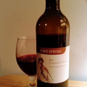 CAVE SPRING 2017 CABERNET FRANC カナダ産ワイン