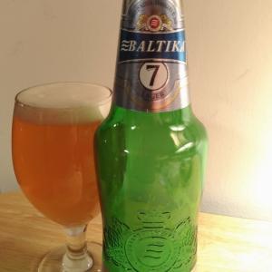 BALTIKA7 LAGER ロシア産ビール
