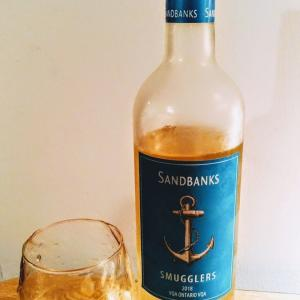 Sandbanks SMUGGLERS 2018~カナダ産白ワイン