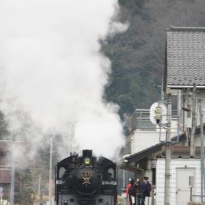 もおか路(茂木_C12_6002発車準備_昨年12月)