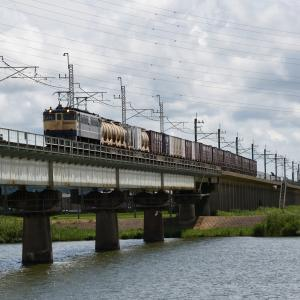 かしま路(橋を渡る貨物)