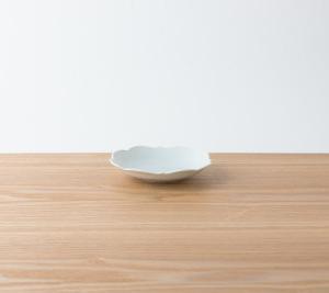 衝動買い KIHARAの小皿 古白磁 四稜小皿