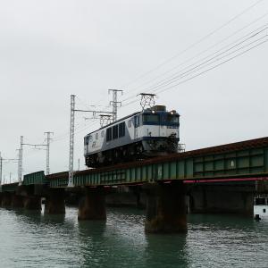 第1浜名橋梁の3075レ EF64-1024  2019.10.19