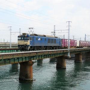 第1浜名橋梁の3075レ EF64-1022  2019.11.9