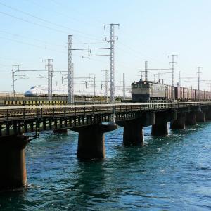 第1浜名橋梁の5087レ EF65-2092  2019.11.16