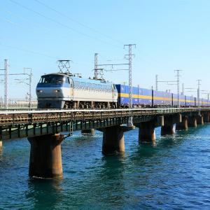 第1浜名橋梁の2059レ E66-123  2019.11.16