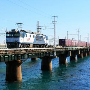 第1浜名橋梁の3075レ EF64-1009  2019.11.16