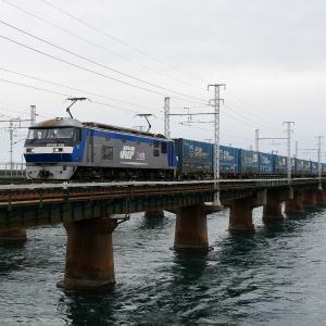 第1浜名橋梁の2053レ EF210-125   2019.12.7