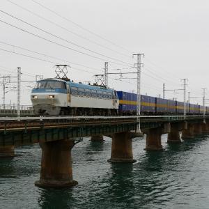 第1浜名橋梁の2059レ EF66-105  2019.12.7