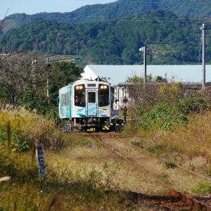 天竜浜名湖鉄道 気賀駅のキャタライナー