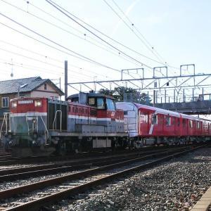 東京メトロ2000系 第17編成甲種 高塚駅 2020.1.11