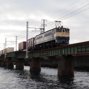 第1浜名橋梁の5087レ EF65-2066  2020.1.25