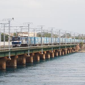 第3浜名橋梁の2053レ EF210-136  2020.1.25