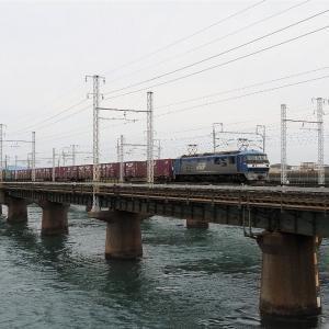 第1浜名橋梁の5052レ EF210-8   2020.2.15